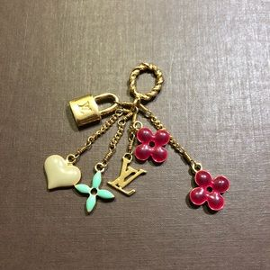 Louis Vuitton Jewelry - Louis Vuitton Charm with Necklace